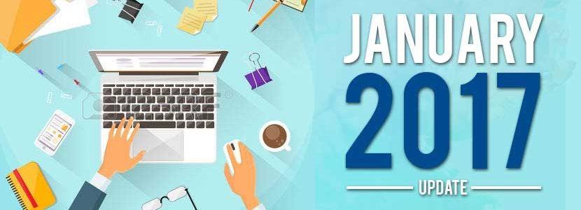 2017 January Update